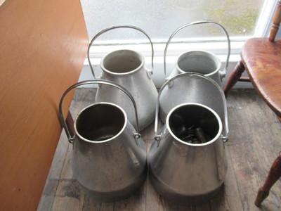 Metal-milk-churns