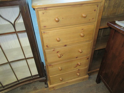 Modern-pine-chest-of-drawers