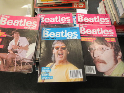Selection-of-Beatles-Magazines