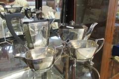 Silver-four-piece-tea-set