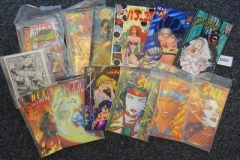 Lot-001-Approx.230-Comics-by-Dark-Horse-Caliber-and-Top-Cow-etc.-Titles-Incl.-Nexus-Crow-and-Ultra