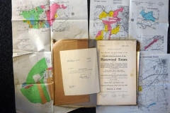 Lot-003-Auction-Catalogue-for-Harewood-Estate-with-Accompanying-Plans-dated-1950-