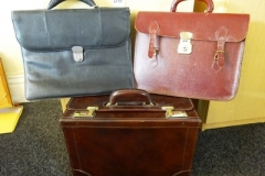 Lot-015-Three-Leather-Briefcases