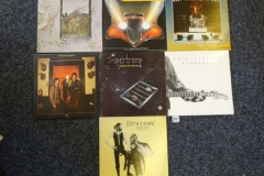 Lot-030-Seven-Rock-Albums-by-Led-Zep-ZZ-Top-Rush-Supertramp-Stranglers-Clapton-and-Fleetwood-Mac