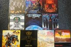 Lot-034-Ten-Thrash-Metal-Albums-by-Slammer-Taramis-SOD-Testament-Torture-Turbo-and-Venom