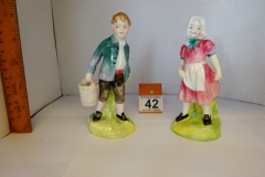 Lot-042-Royal-Doulton-Jack-and-Jill-Figurines