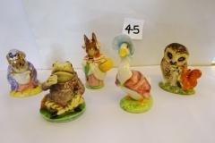 Lot-045-Five-Royal-Doulton-Beatrix-Potter-Figurines
