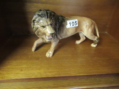 Beswick-lion