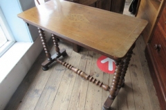 Antique-inlaid-hall-table